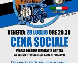 locandina cena sociale inter club opitergium